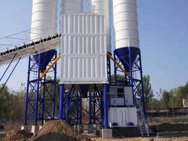 AJ-60 container concrete batch plant