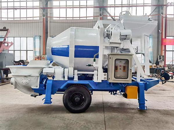 electric concrete mixer pump Samarkand