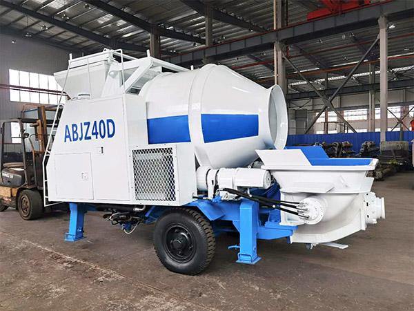 electric concrete mixer pump to Samarkand