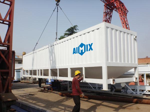 horizontal low level silo to Ivory Coast