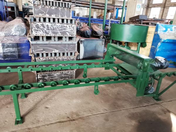 pan mixer of auto brick machine