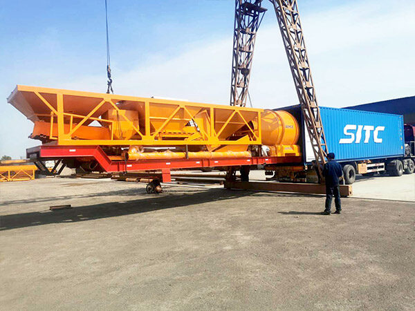portable concrete plant Indonesia