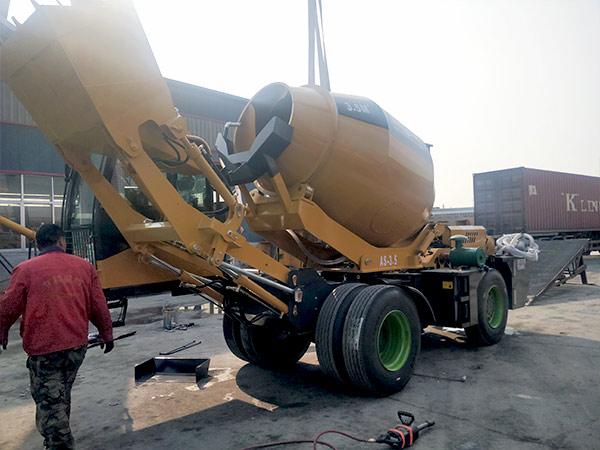 self loading cement mixer Dodobas