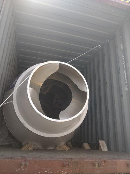 self loading concrete mixer drum