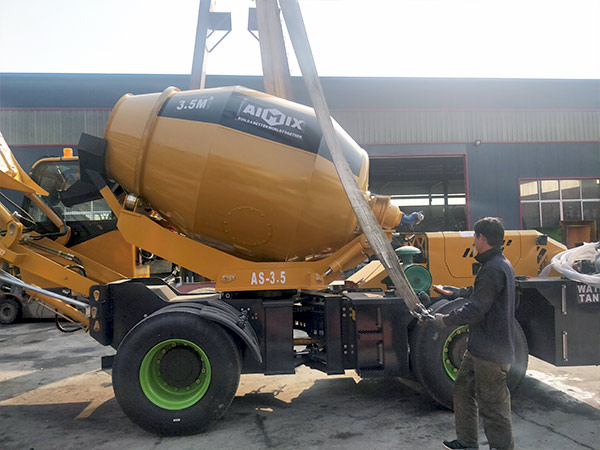 self loading concrete mixer to Dodobas