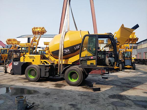 self loading mixer Dodobas
