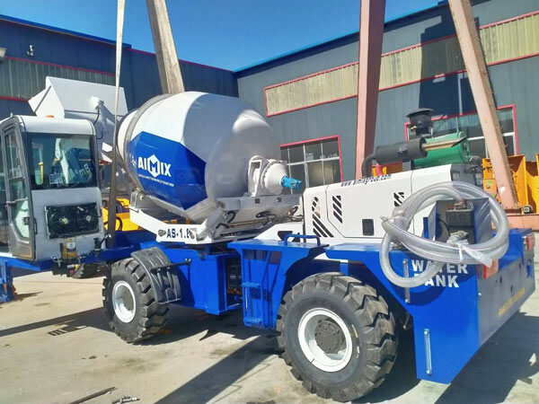 1.8 cub self loading concrete mixer Philippines