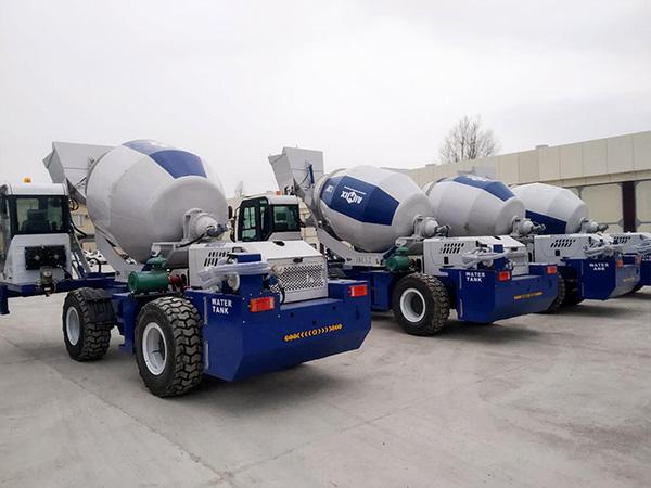 AS-3.2 misturador de concreto com carga automática