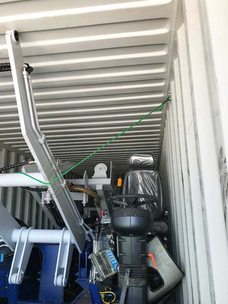 4.0 cub self loading transit mixer