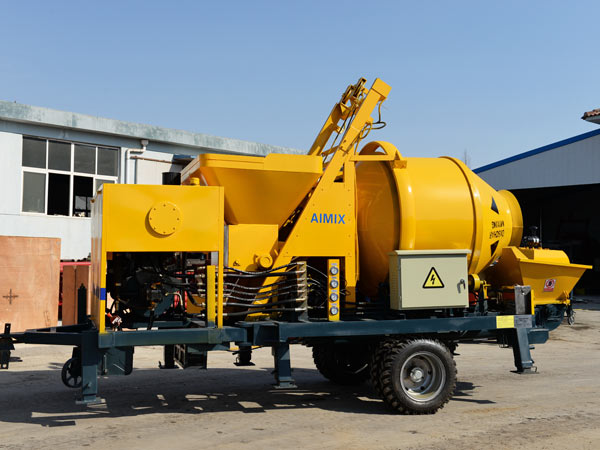 ABJZ30C diesel cement pump mixer