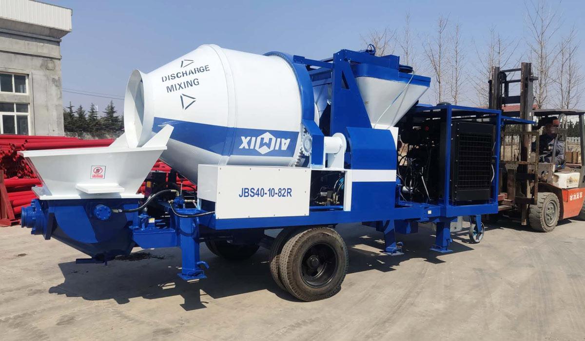 ABJZ40C diesel cement mixer pump south africa