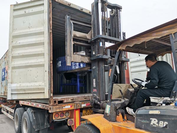 ABM-3S semi automatic hydraulic block machine