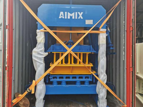 ABM-4S hollow block machine to Jamaica