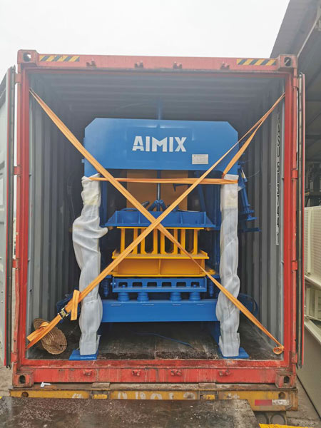 ABM-4S hollow block making machine-Jamaica