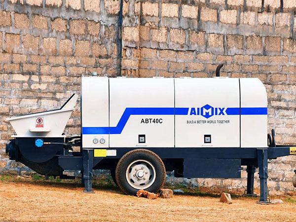 Bomba de concreto a diesel ABT40C