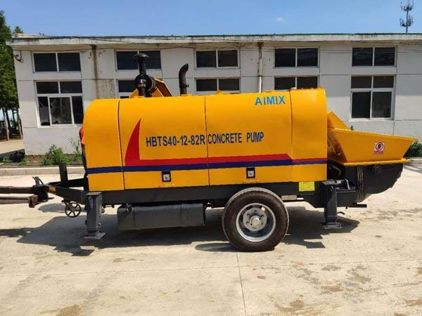 ABT40C diesel mini concrete pump