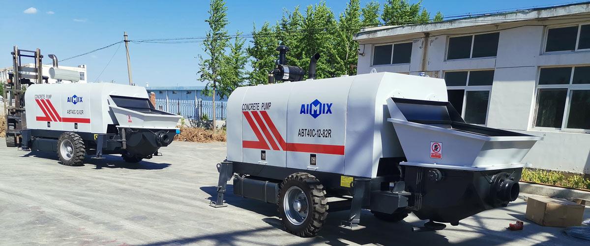 ABT40C diesel powered concrete pump Philippines
