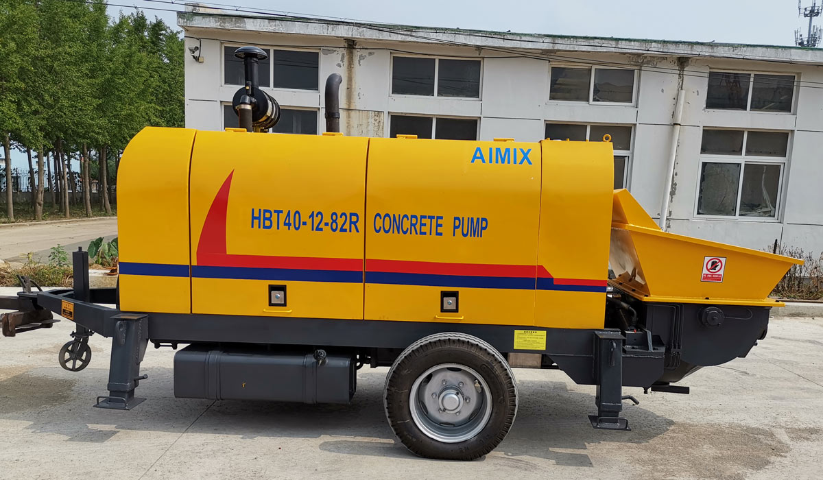 ABT40C diesel stationary concrete pump