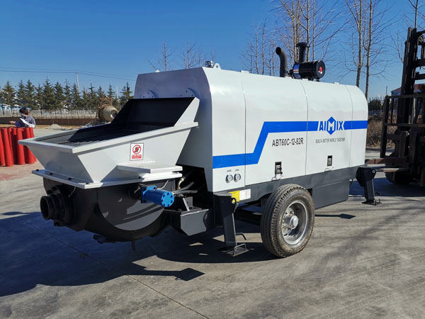 ABT60C diesel small concrete pump