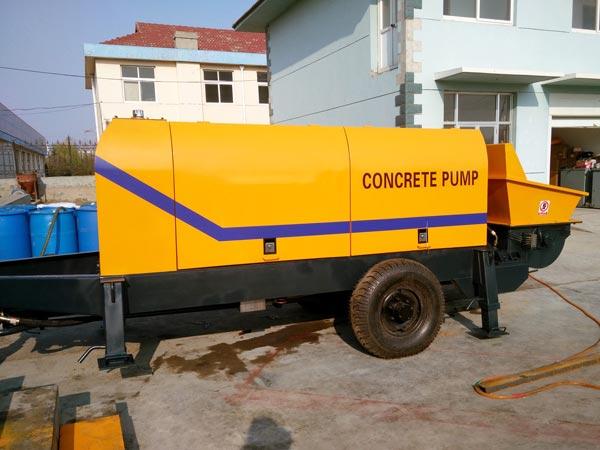 ABT60D electric concrete pump Kenya