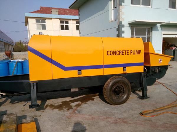 Bomba de reboque elétrica de concreto ABT60D