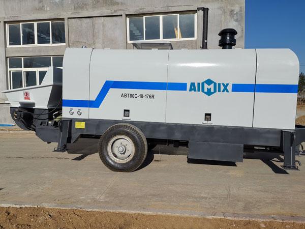 ABT80C รถพ่วงปั๊มคอนกรีต