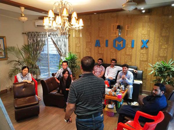 Grupo AIMIX no Paquistão