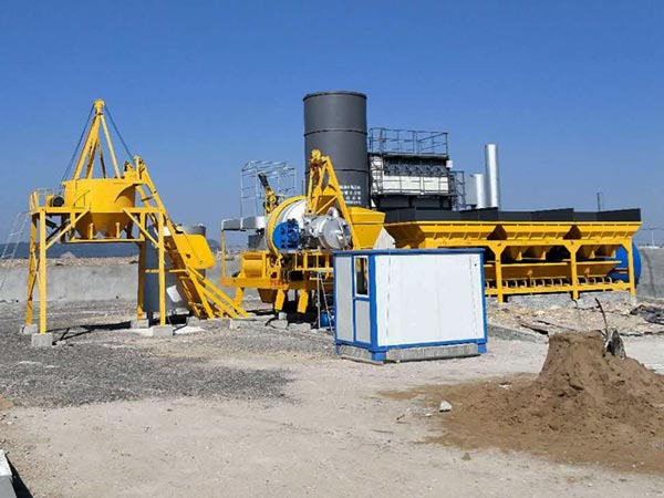 Fábrica de asfalto móvel de tambor ALYJ-10