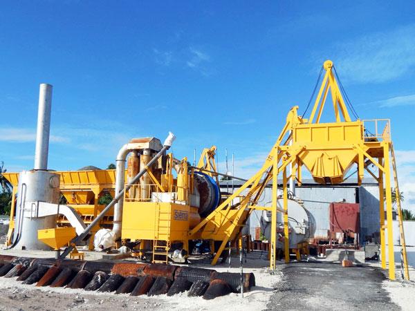 ALYJ-40 drum mobile asphalt plant