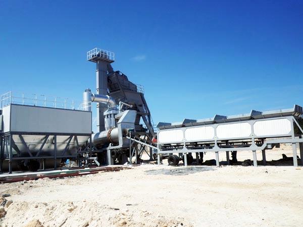ALYQ40 mobile asphalt batching plant