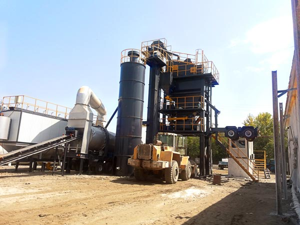 ALYQ60 asphalt batch plant mobile