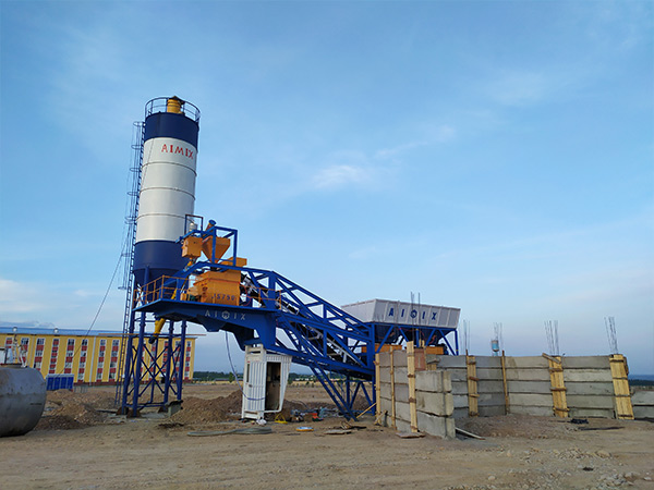 Small Concrete Batch Plant In Namangan Uzbekistan