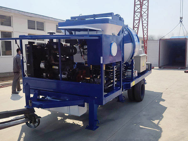 diesel cement mixer pump