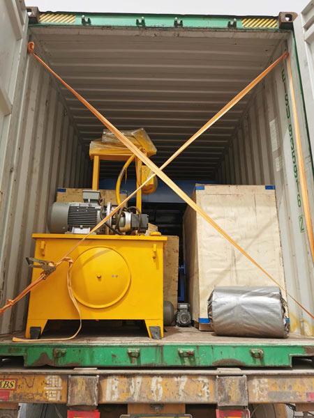 hollow brick machine to Malaysia