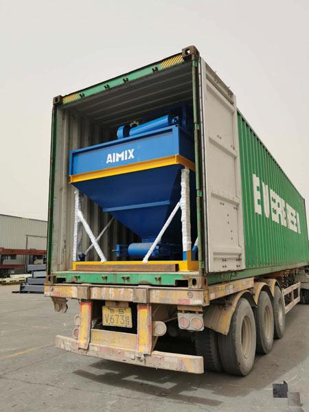 hollow brick machine was sent to Malaysia