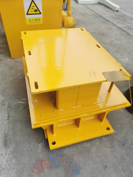 mould of hollow block machine