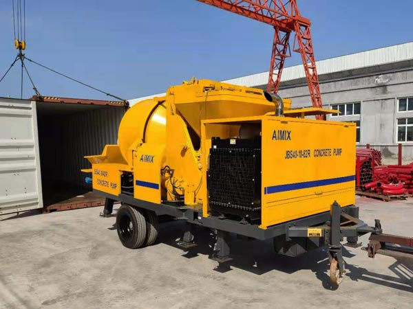 portable concrete mixer pump Jamaica
