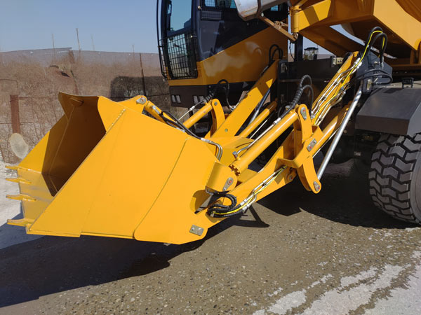 self loading concrete mixer for Kenya