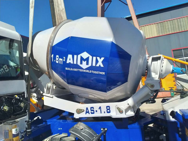 self-loading concrete mixer for Philippines