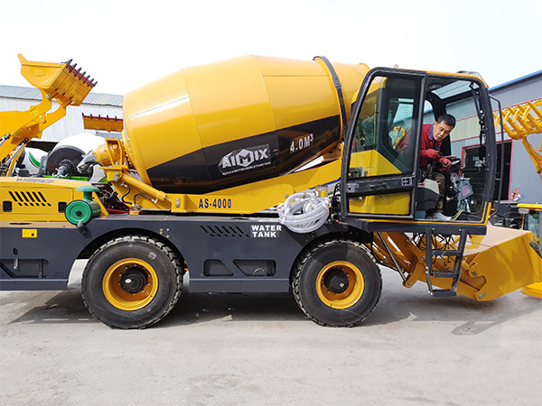self loading concrete mixer to Kenya