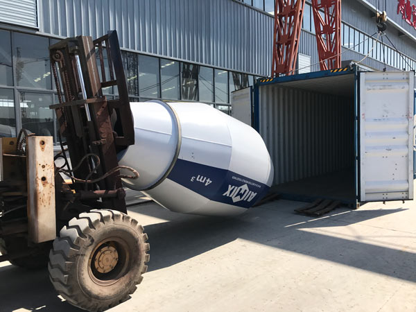 self-loading mixer to Russia