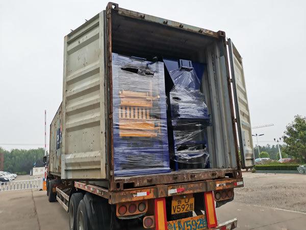 semi automatic hydraulic block machine to Honduras