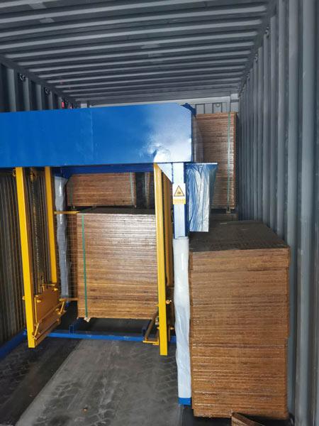 shipment of ABM-4S block machine