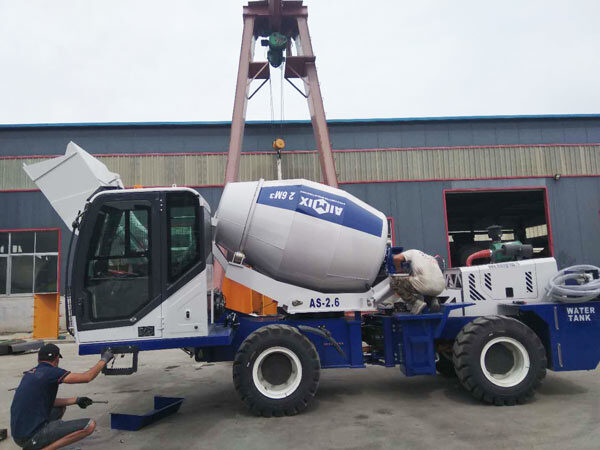self loading cement mixer Kazakhstan