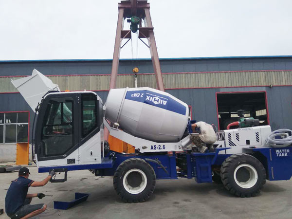 self loading cement mixer Kazakhstan