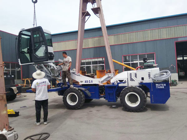 self loading concrete mixer Kazakhstan