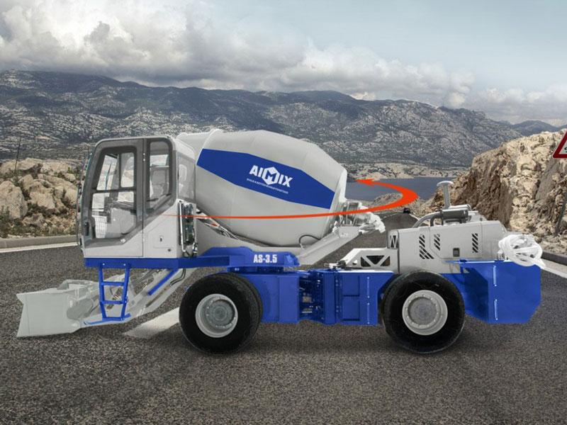 AS-3.5C self loading concrete mixer