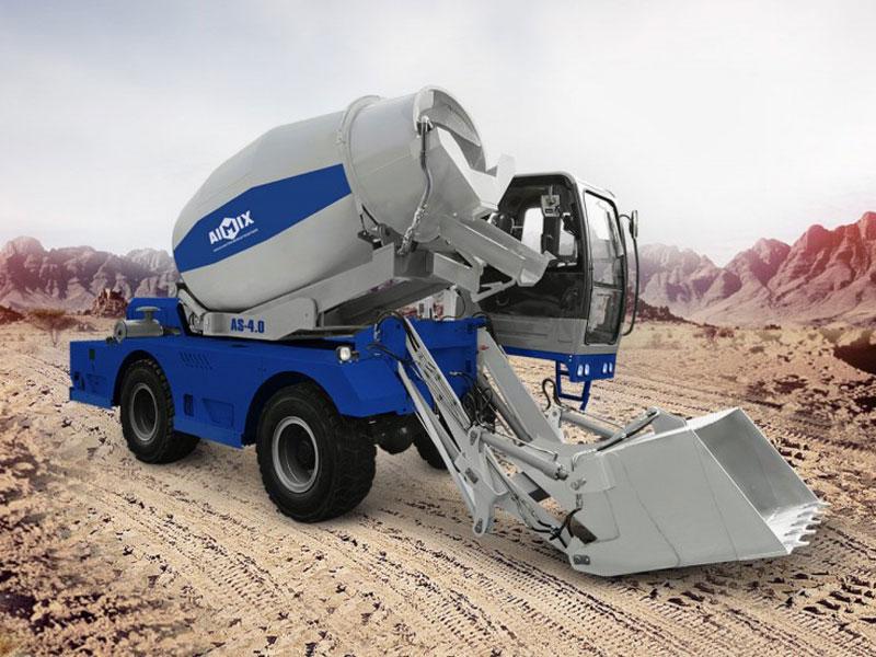 AS-4.0 self loading mixer