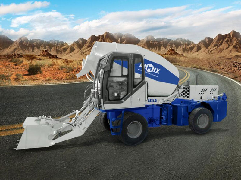 AS-5.5 AS-4.0 self loading mixer truck
