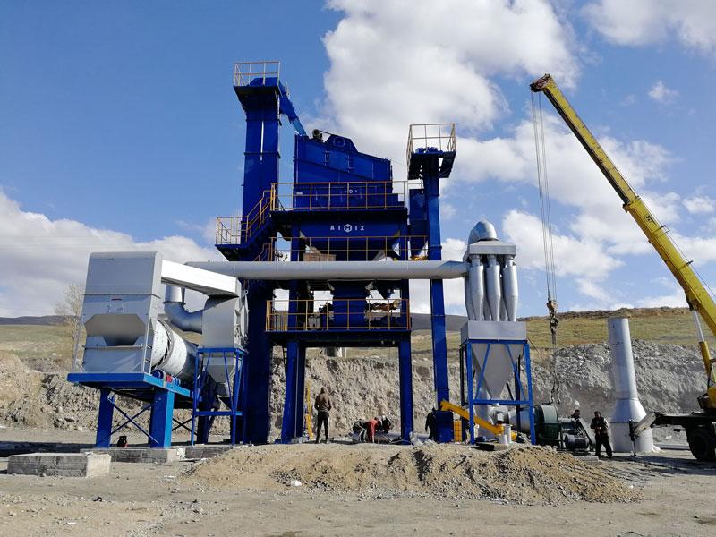 ALQ60 โรงงานยางมะตอยแบบอยู่กับที่ในคีร์กีซสถาน